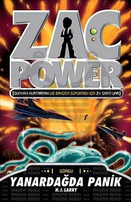 Zac Power 17  - Yanardağda Panik