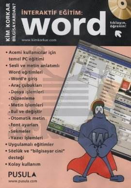 İnteraktif Eğitim Cd-Rom Word