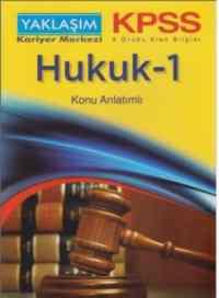KPSS Hukuk-1 Konu Anlatımlı
