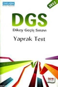 DGS Çek Kopar Yaprak Test