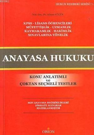 Anayasa Hukuku; Ko ...