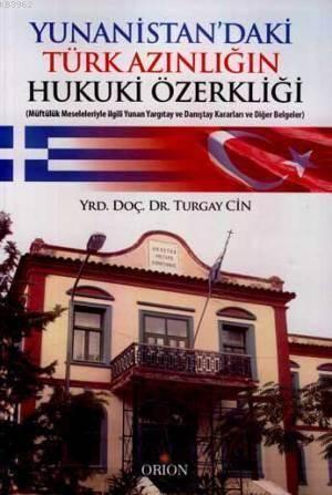 Yunanistan'daki Türk Azınlığın Hukuki Özerkliği