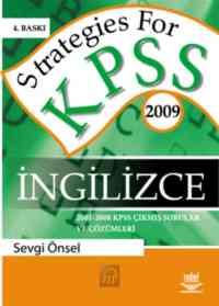 Strategies For KPSS İngilizce