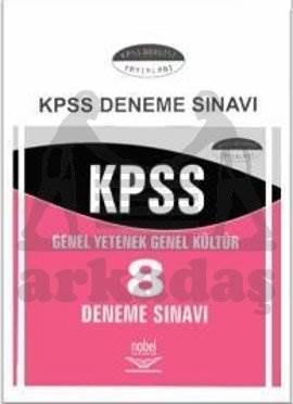 KPSS Genel Yetenek Genel Kültür 8 Deneme Sınavı