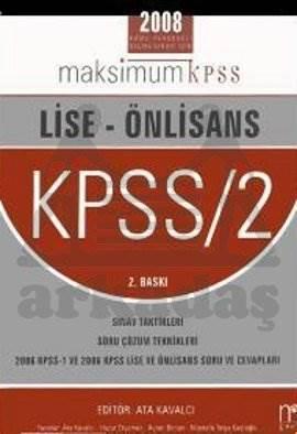 Lise - Ön Lisans KPSS / 2