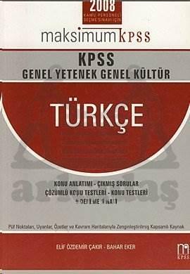 KPSS Genel Yetenek Genel Kültür Türkçe