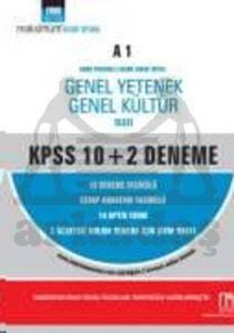 Nobel KPSS GYGK 10+2 Deneme