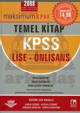 Maksimum KPSS Temel Kitap KPSS Lise- Önlisans