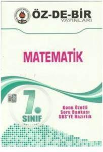 Özdebir 7 Matematik K.A.