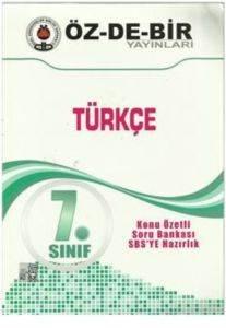 Özdebir 7 Türkçe K.A.