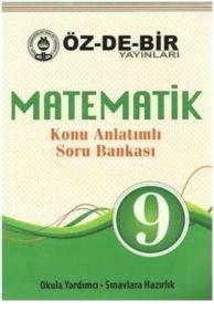 Özdebir 9 Matematik Konu Anlatımlı Soru Bankası