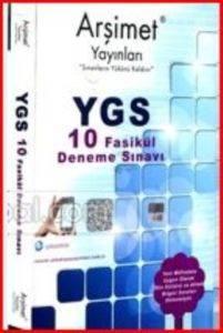 Arşimet YGS 10 Fasikül Deneme Sınavı
