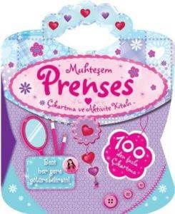 Muhteşem Prenses Çıkartma Ve Aktivite Kitabı