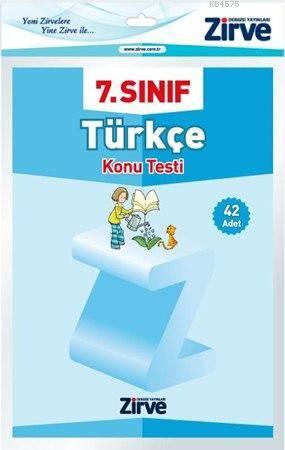7. Sınıf Türkçe Konu Testi