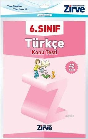 6.Sınıf Türkçe Konu Testi