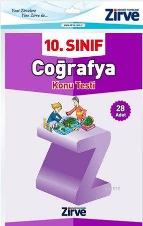 10. Sınıf Coğrafya Konu Testi