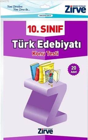 10. Sınıf Türk Edebiyatı Konu Testi