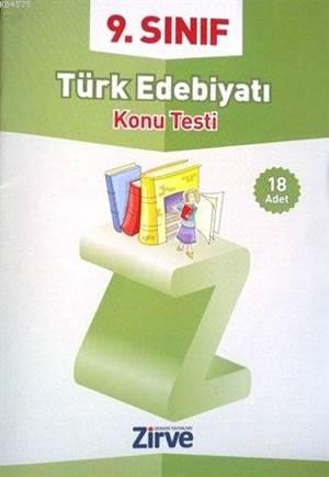 9. Sınıf Türk Edebiyatı Konu Testi