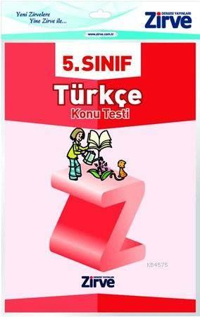 5.Sınıf Türkçe Konu Testi