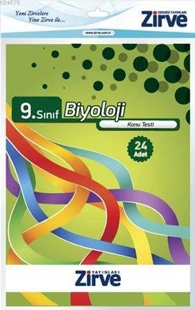 9. Sınıf Biyoloji Konu Testi