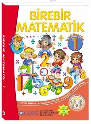 Birebir Matematik 1; İlkokul 1.Sınıf (Cd'li)