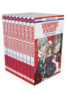 Vampire Knight Seti 10 Kitap
