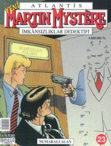Martin Mystere 23 - Numaralı Alan