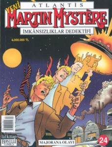 Martin Mystere 24 - Majorana Olayı
