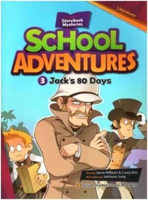 Jack's 80 Days +CD; School Adventures 2