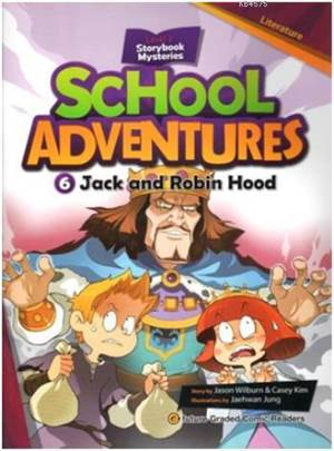 Jack And Robin Hood +CD; School Adventures 2