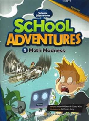 Moth Madness + CD (Level 3); School Adventures 1