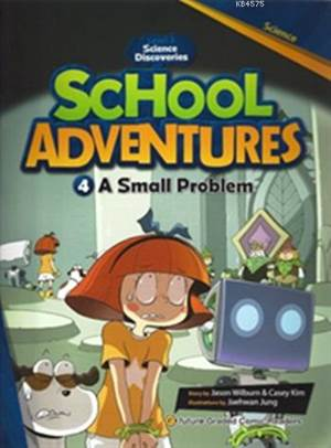 A Small Problem + CD (Level 3); School Adventures 4