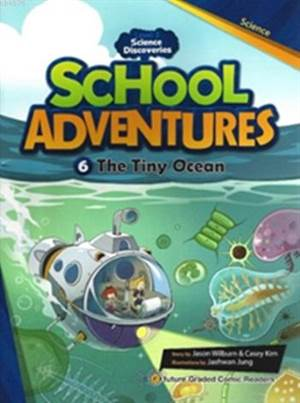 The Tiny Ocean + CD (Level 3); School Adventures 6