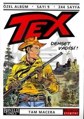 Tex Özel Albüm Sayı: 9 Dehşet Vadisi