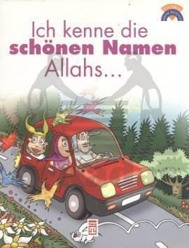 Allahın Güzel İsimlerini Biliyorum - (Almanca)