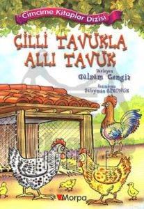 Cimcime Kitaplar 8-Çilli Tavukla Allı Tavuk