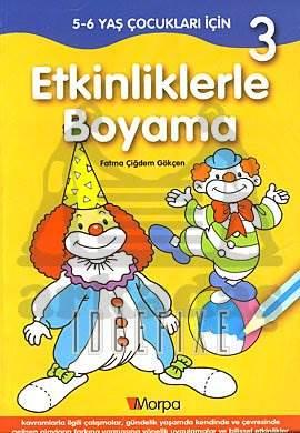Etkinliklerle Boyama 3