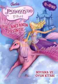 Barbie Pegasus Boyama