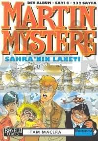 Martin Mystere Dev Albüm Sayı: 4 Sahra'nın Laneti
