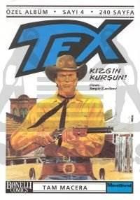 Tex Özel Albüm Sayı: 4 Kızgın Kurşun!