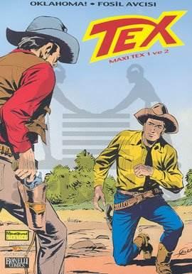Tex - Maxi Tex 1 ve 2 Oklahoma! Fosil Avcısı