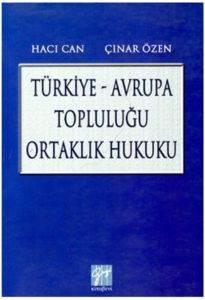 Türkiye Avrupa Topluluğu Ortaklık Hukuku