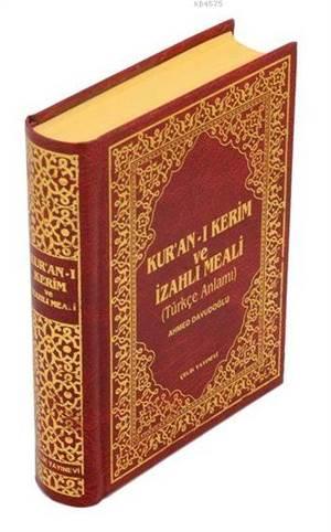 Kur'an-ı Kerim ve İzahlı Meali Ahmed Davudoğlu - Hafız Boy