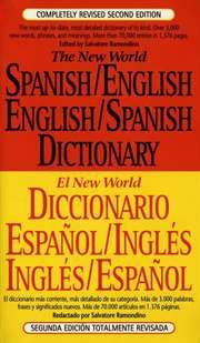 The New World Spanish/English, ...