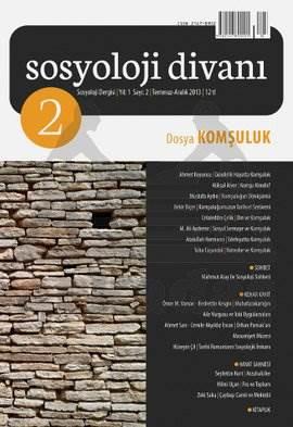 Sosyoloji Divanı 2 - Komşuluk
