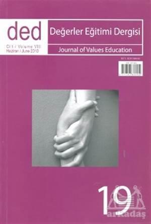 Değerler Eğitimi Dergisi Sayı: 19