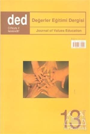 Değerler Eğitimi Dergisi Sayı: 13