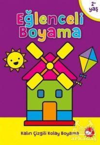 Eğlenceli Boyama Seti 8 Kitap Takım