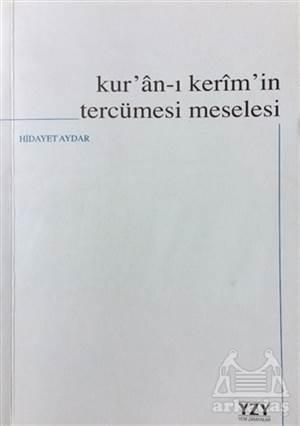 Kur'an-I Kerim'in Tercümesi Meselesi