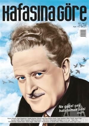 Kafasına Göre Dergisi Sayı: 17 Kasım - Aralık 2017